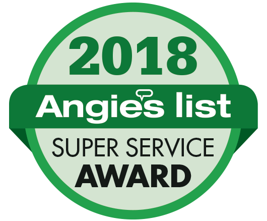 Angie's List 2018 Super Service Award!