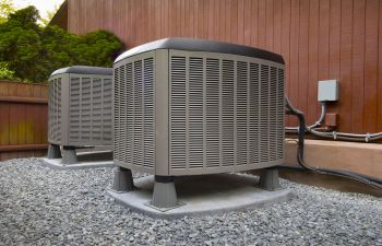 AC Unit Outside Alpharetta GA